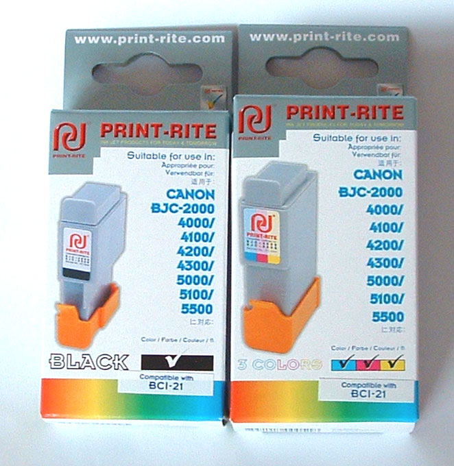 Canon ink BCI21 bci 21 Black ink bjc2000 2010 2120 mp C20 C30